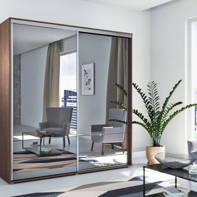 Levné Šatní skříně: Prostorná šatní skříň AMADEO, šířka 200 cm, výška 215 cm