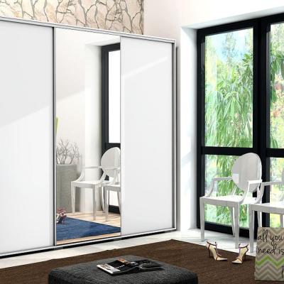 Levné Šatní skříně: Prostorná třídveřová šatní skříň LEONARDO, šířka 250 cm