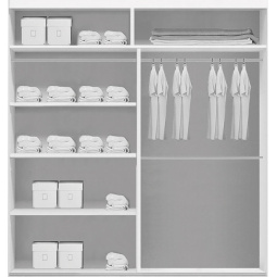 Levné Šatní skříně: Stylová šatní skříň ORLANDO, šířka 150 cm