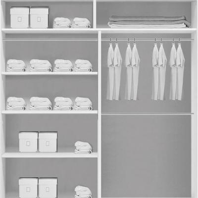 Levné Šatní skříně: Prostorná šatní skříň se zrcadlem RICARDO, šířka 120 cm