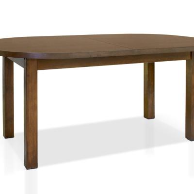 Levné Rozkládací jídelní stoly z masivu: Jídelní stůl Epifanía v oválném tvaru