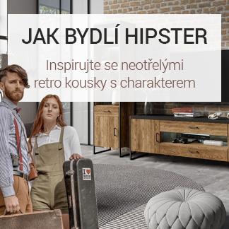 Jak bydlí hipster – retro nábytek s charakterem