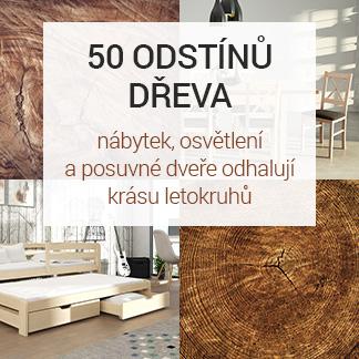 50 odstínů dřeva – nábytek, osvětlení a posuvné dveře odhalují krásu letokruhů
