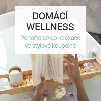 Domácí wellness – nábytek a svítidla pro stylovou koupelnu