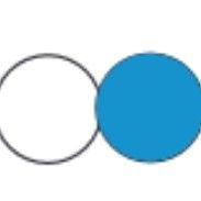 bílá/modrá